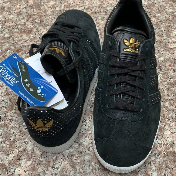 Gold Suede Sneakers 65 | Poshmark